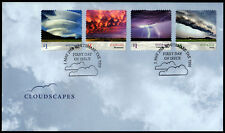 2018 Cloudscapes Nephology *Self Adhesive* FDC Stamps Australia Post