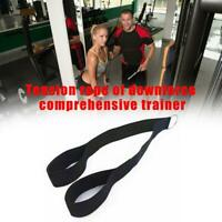 Nylon Tricep Rope Pull Down Fitness Biceps Muscle Indoor Sport Training Device