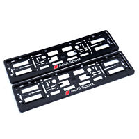 2x Kennzeichenhalter Nummernschildhalter für AUDI