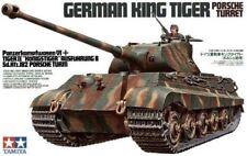 Tamiya German King Tiger Porsche Turret Tower Tank 1:3 5 Kit 35169