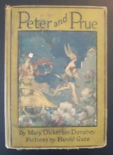 AUTOGRAPHED - PETER AND PRUE Mary Dickerson Donahey 1924 HC 1st Edition Antique