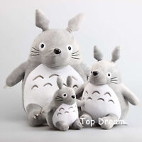 New Hayao Miyazaki My Neighbor TOTORO Plush Toy Stuffed Anime Doll Xmas Gift