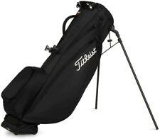 Titleist 2020 Players 4 Carbon Golf Stand Bag, Black, TB20SX5-0