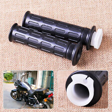 "Pair 7/8"" Throttle Handle Bar Twist Grips Fit For Motor ATV Scooter Dirt Bike"