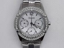 Reloj De Pulsera Hermosa ACCURIST señoras para mujer Acero & Diamante LB1643BP-Nuevo