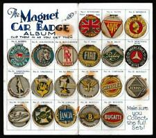 More details for amalgamated press - 'magnet car badge album'