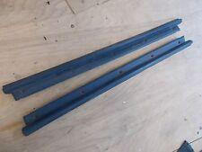 Nissan Pulsar NX SE RH LH Blue Door Sill Plates 87 88 89 90 Used OEM