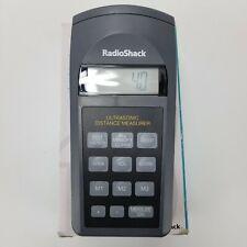 Radio Shack 63 1005 Ultrasonic Distance Measurer Area Amp Volume 3 To 60