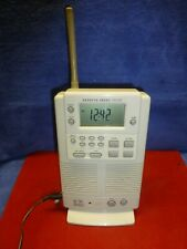 Sharper Image Shower Companion Clock Radio S-1495 Working