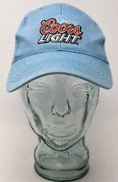 Acme Coors Light Taste the Rockies Baseball Cap Hat Blue OSFM Strap Back