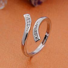 Vintage Damen Schmuck Glanz Entwickelt ÖFfnung Verstellbarer Ring HeißEr Verkauf