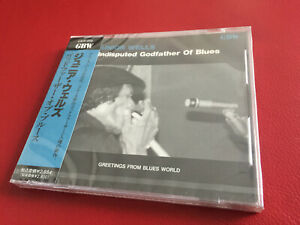 JUNIOR WELLS - Undisputed Godfather Of Blues - JAPAN GBW-008
