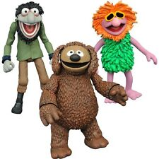 The Muppets Diamond Select Figures – Rowlf, Crazy Harry & Mahna Mahna Series 3