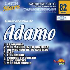 Karaoke Latin Stars 82 Adamo Vol.1