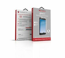 New! ZAGG Screen Protector for Apple iPhone 7 Plus Tempered Glass FAST SHIPPING