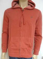 American Eagle Outfitters Mens Muted Pale Red Hoodie Sweatshirt Jacket New NWT