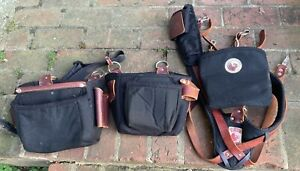 Occidental leather tool bags  With Shoulder Straps   Look 👀  At Pictures