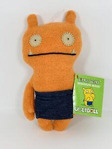 "Minimum Wage Uglydoll, Little Uglys 8"" Plush Stuffed Toy With Tag"