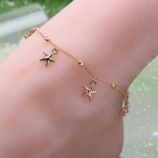 New Gift Bracelet Chain Barefoot Gold Chain Sandal Starfish Anklet