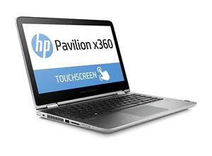 HP Pavilion x360 - m3-u101dx Touch 13.3in. 500GB, Intel Core i3 7th Gen. 6gb ram