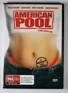 American Pool DVD (aka Kisses and Caroms) FREE POST