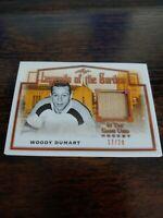 2019-2020 Leaf In The Game Used Woody Dumart Boston Bruins Hockey Card #17/20