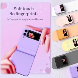 For SamsungGalaxyZFlip35G Lightweight Dust-proof Soft Flip Phone Case Cover