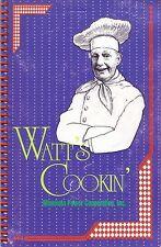 WATT'S COOKIN' Minnkota Power Cooperative Cookbook North Dakota Great Recipes