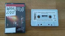 VERY RARE Sex Pistols UK Cassette Album Original Pistols Live ARLC 1008 Punk