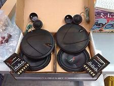 Set Kit altoparlanti casse woofer 165 mm tweeter 55 mm crossover 120W watt 2 vie