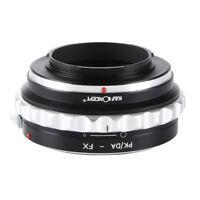 K&F Concept Lens Adapter for Pentax PK/DA Lens to Fujifilm Fuji FX Mount Cameras