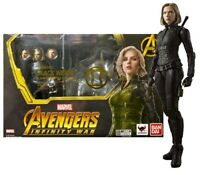 Black Widow Figurine Infinity War Effect Explosion Bandai S.H.Figuarts