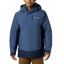 New Mens Columbia Lhotse III 3in1 Interchange Omni-Heat/Tech Winter Jacket Coat