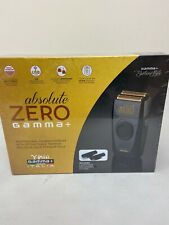 GAMMA+ Absolute Zero Cordless Foil Shaver, Retractable Trimmer, USB charge Razor