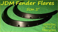 UNIVERSAL JDM Fender Flares Fiberglass 5cm 13 mounting points (set of 2)