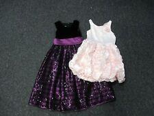 CINDERELLA H & M Purple Black Pink Lot Of 2 Sleeveless Party Dresses Sz 7 EE5099