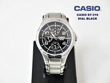 CASIO COLLECTION EF-316 EDIFICE WR.100M DIAL BLACK