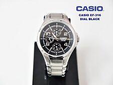 CASIO COLLECTION EF-316 EDIFICE WR.100M DIAL BLACK