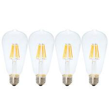 4x E27 ST64 6W LED Edison Glühfaden Glühbirne Dekorative Vintage Deko Glühlampe