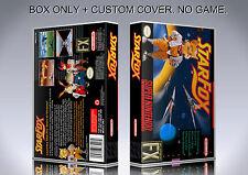STARFOX. NTSC FORMAT. Box/Case. Super Nintendo. BOX + COVER. (NO GAME).