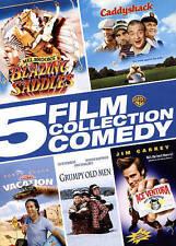 5 Film Collection: Comedy (DVD, 2015, 5-Disc Set) Caddyshack Ace Ventura