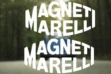 Magneti Marelli Vinyl Sticker Rally Racing Vintage