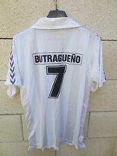 VINTAGE Maillot REAL MADRID camiseta BUTRAGUENO n°7 shirt trikot jersey 80's 3 M