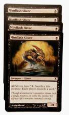 MTG: 4x Mindlash suzerain! time spiral! Engl. Presque comme neuf Magic the Gathering Carte