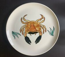 More details for large poole pottery crab plate / platter
