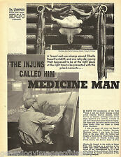 CHARLES RUSSELL-THE INJUNS CALLED HIM MEDICINE MAN