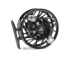 Hatch 3 Plus Finatic Reel NEW in Box ~ Large Arbor ~ Black / Silver Closeout