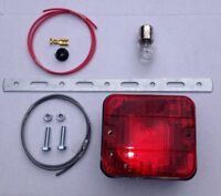 Hang Down Rear Bumper Fog Lamp (complete with bulb & fixings) Ideal For Imports