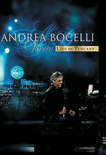 """Andrea Bocelli - """"Vivere"""" Live In Tuscany DVD Free Shipping"""