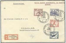 Germany Olympische Spiele Olympic Games 1936 Olympic stamps on R cover Stadion